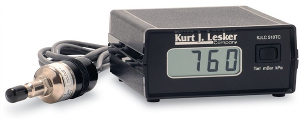 Thermocouple Pressure Gauge : Kjlc tc series thermocouple gauge package premier