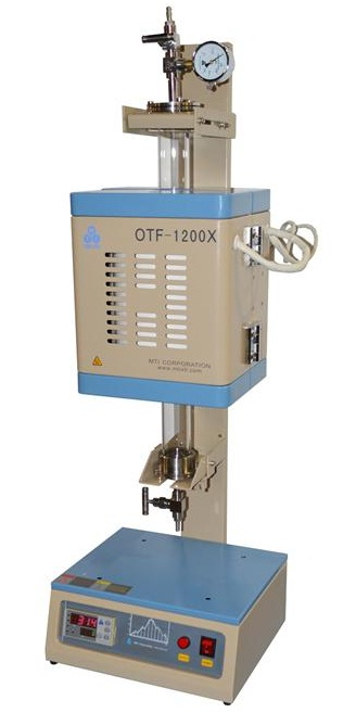Compact Vertical Split 1 Quot Or 2 Quartz Tube Furnace With