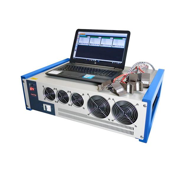 4 Channel Battery Analyzer (60mA -30A, 5V) w/ Temperature & DCR Measurement & Laptop- BST8-30A-CDS