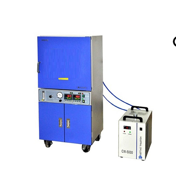 """500ºC (18x18x18"""", 91 Liter) Large Vacuum Oven with Vacuum Pump & Water Chiller - DZF-6090-HT"""