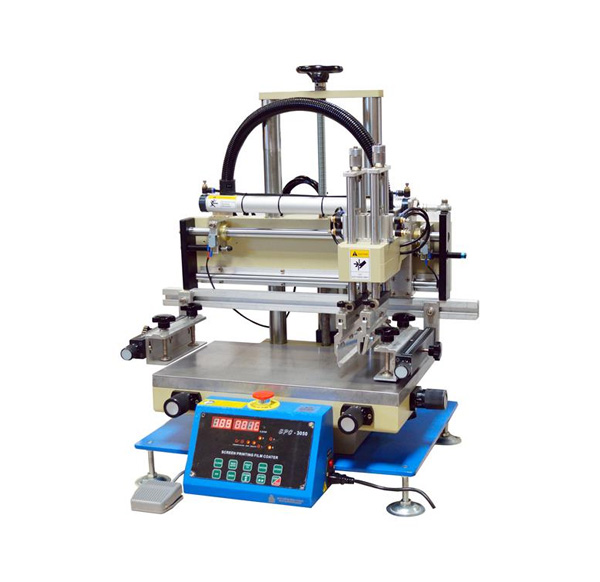 Bench-Top Semi-Automatic Screen Printing Film Coater with Vacuum Chuck - EQ-SPC-3050