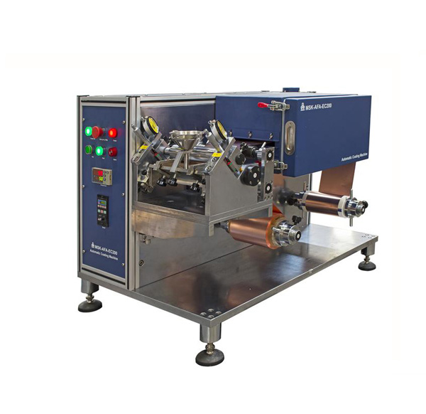 Compact Roll to Roll Coater w/ 160mm Max.Width For Battery Electrode Research - MSK-AFA-E200-UL