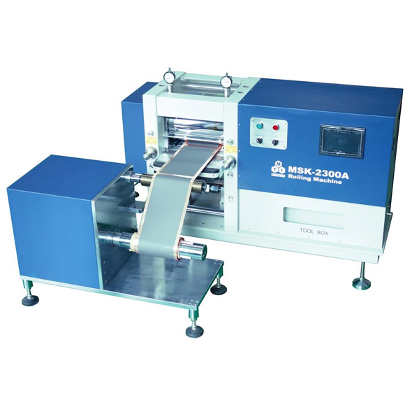 Roll to Roll Pressure Controlled Rolling Pres for Battery Electrodes (Max. 300mm Width) - MSK-E2300B