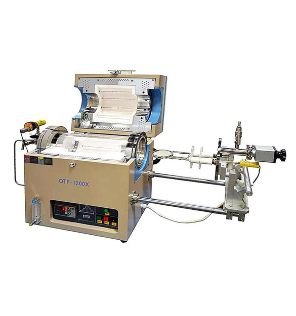 Compact Atmosphere Controlled RTP Furnace with 4