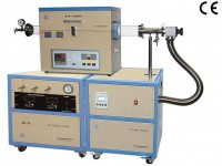 Tube Furnace with High Vacuum & Gas Delivery System by Precision MFC